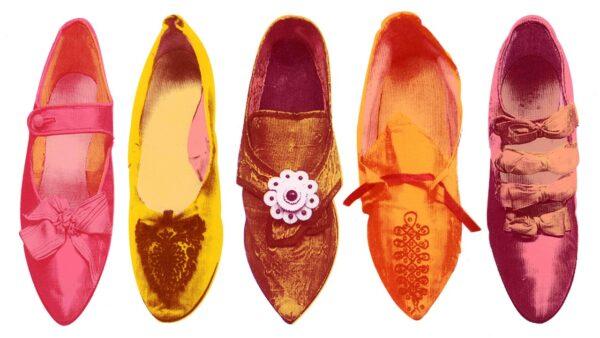 Vintage shoes pink