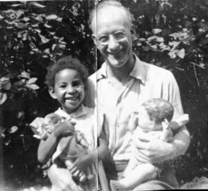 Goldsmith with her grandfather