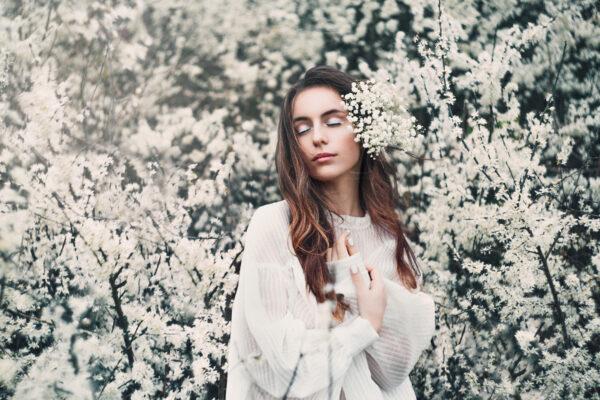 Bella in Blossom
