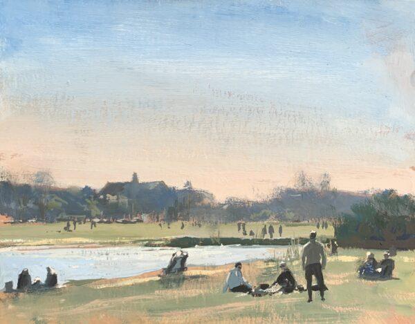 Rushmere Pond, Wimbledon Common