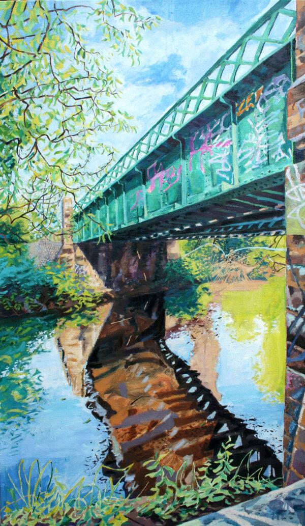 Wandle Railway Bridge 2