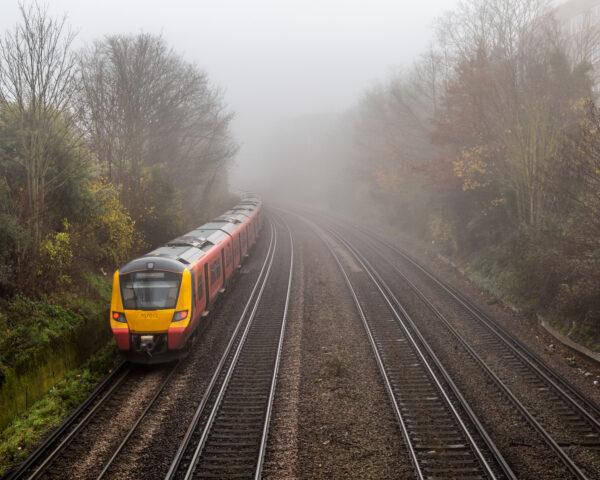 Foggy Morning Train