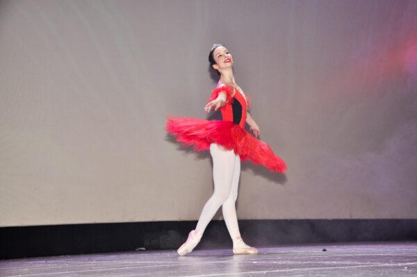Yagmur Hazal Oguz in the ballet