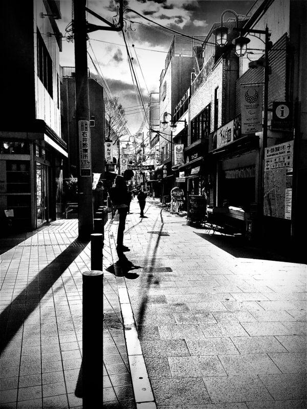 Shinagawa street, Japan