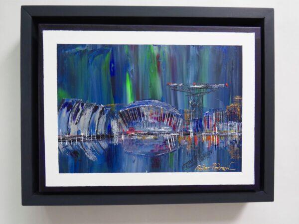 "Northern Lights over Clyde Port """