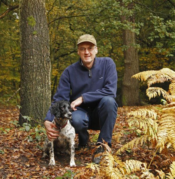 Andrew Wilson enjoying Putney Heath