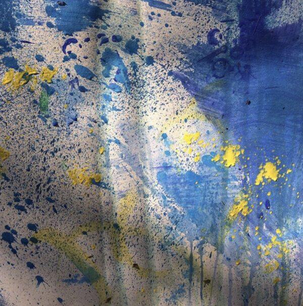 Mixed Utensils Painting