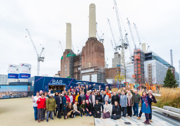 Battersea Power Station Community Choir on stage