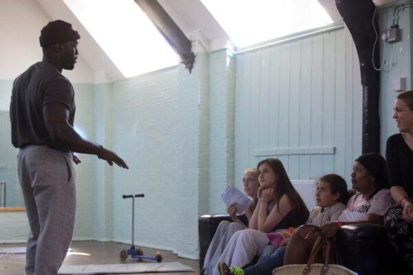 Battersea Stories - workshop at KLS