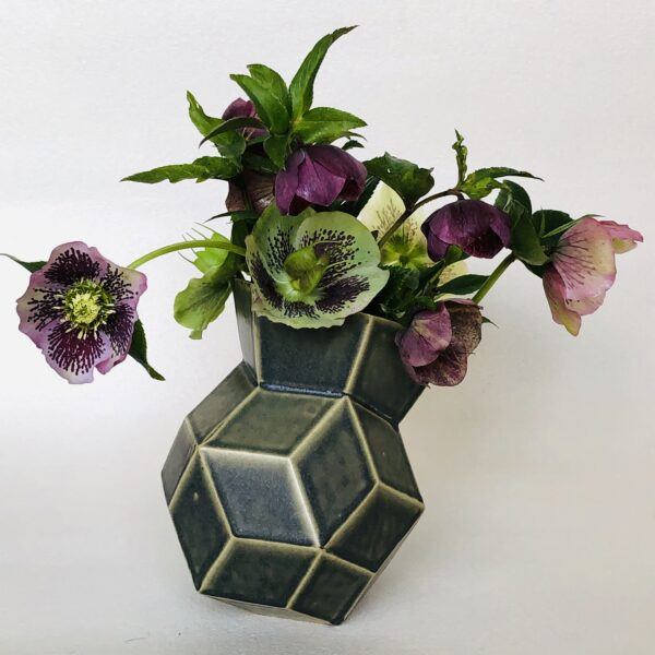 Rhombic vase