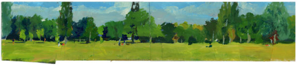 Tooting Bec Common: Long View
