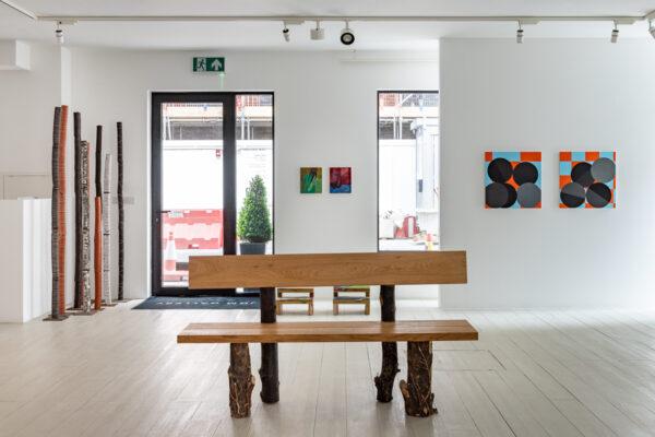 'Reflection' exhibition at JGM Gallery featuring work by Naja Utzon Popov, Karolina Albricht, Alice Wilson and Daniel Sturgis