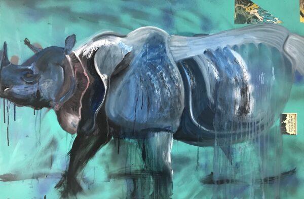 Fading rhino