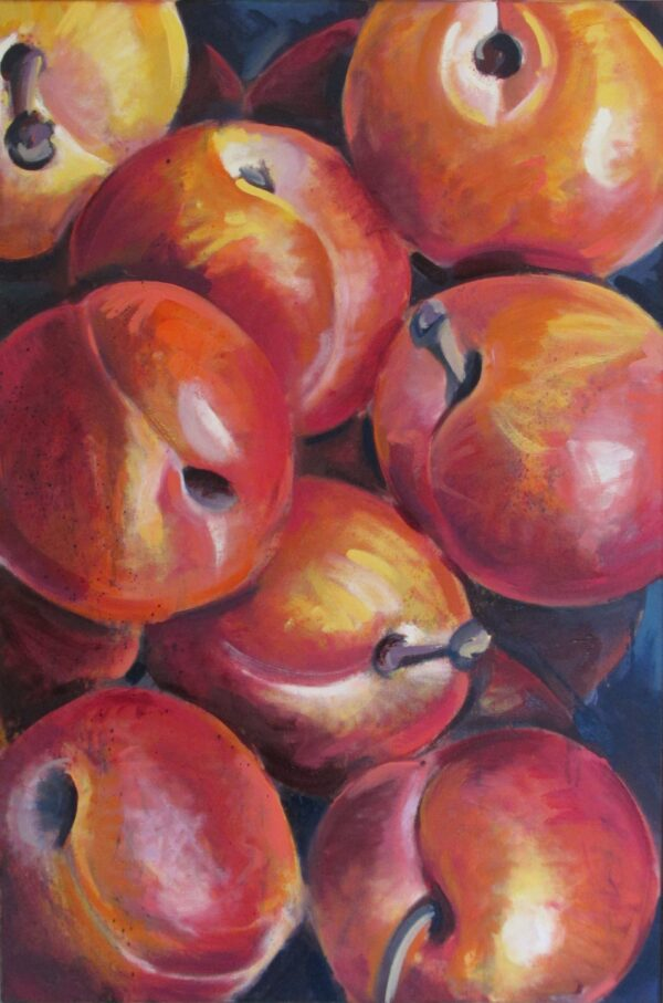 Still Life with Golden Plums