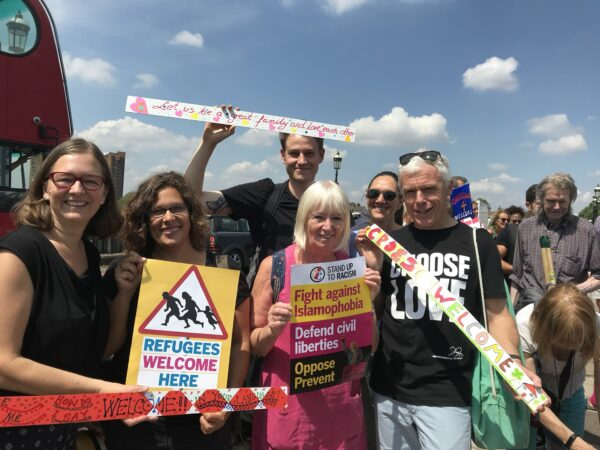 Welcome Refugees campaign