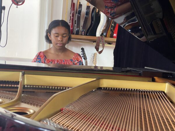 Piano lessons at World Heart Beat