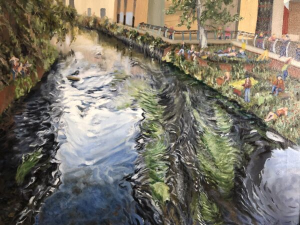 The Wandle by Garratt Lane