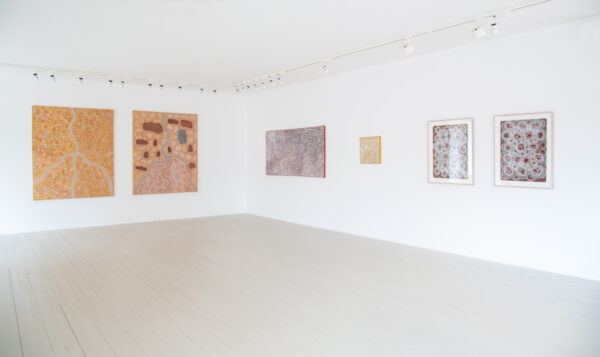 'This Place Holds the Key' exhibition featuring work by Peggy Griffith, Kitty Malarvie and Phyllis Ningarmara