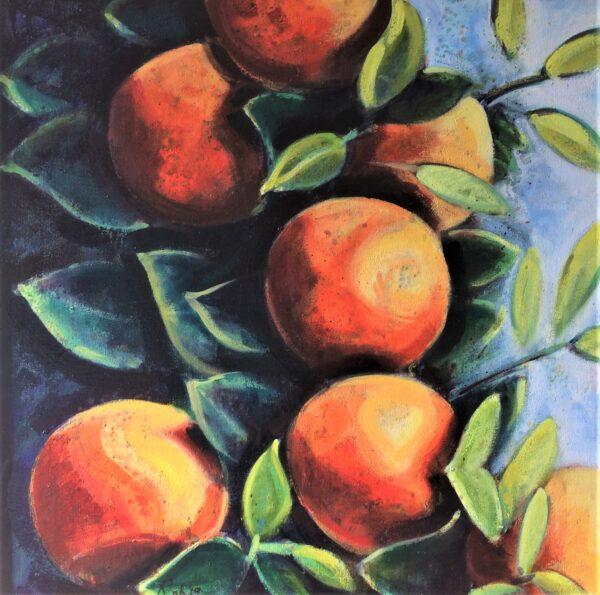 Still Life with Greek Oranges