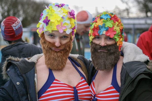 The Bearded Ladies (at the Cold Water Championships Tooting Lido)