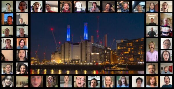 Battersea Power Station Community Choir perform online