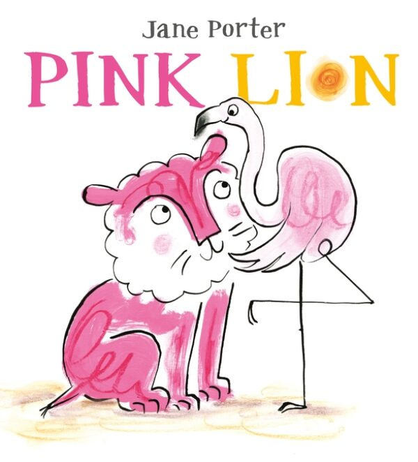 'Pink Lion' cover (Walker Books, 2017)