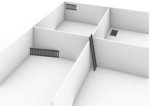 Fences, Ladders, and Rooms