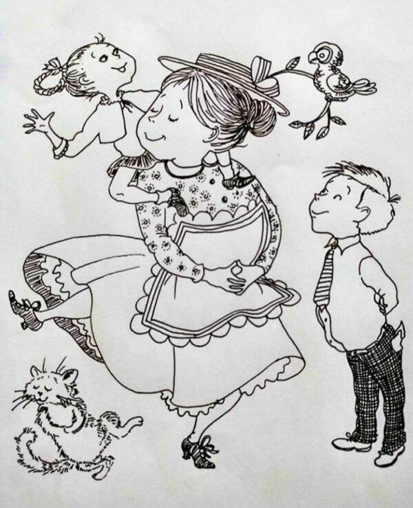 Mrs Piggle Wiggle (b&w)