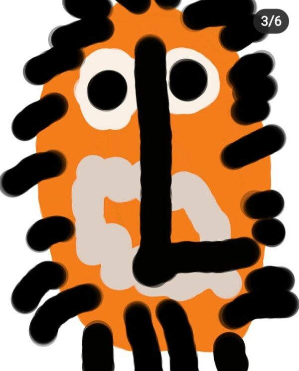 Tiger / Lion Clock