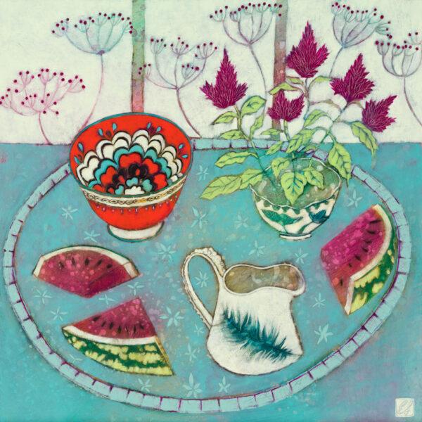 Elderberries and Watermelon