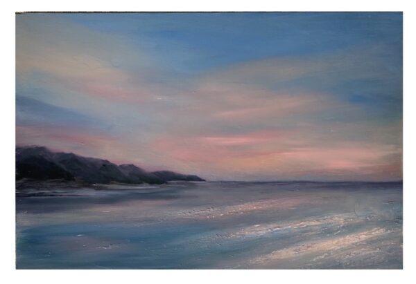Pink Sunset North Cornwall