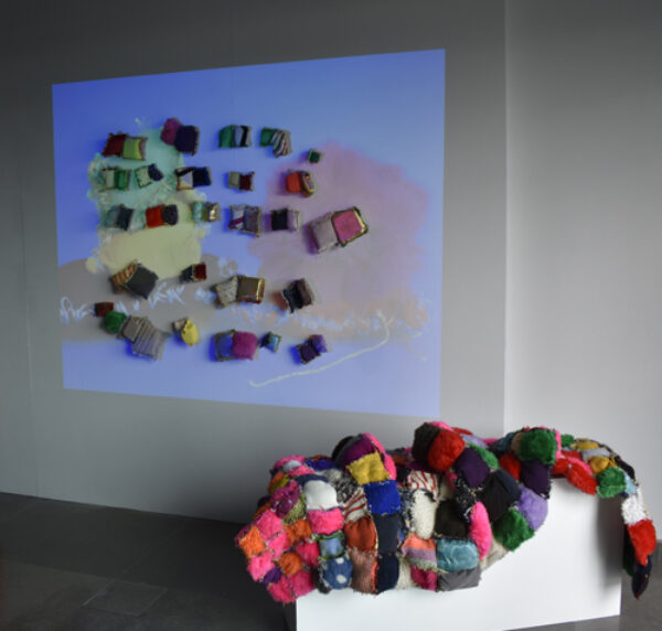 Installation view from