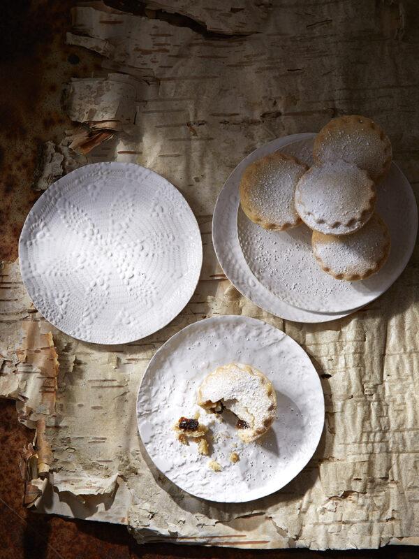 Snowflake side plates