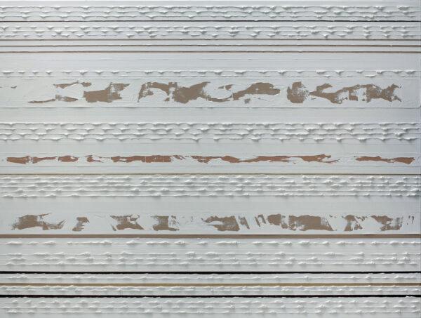 Stripes White on Clay