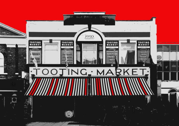 Tooting Market, Red.