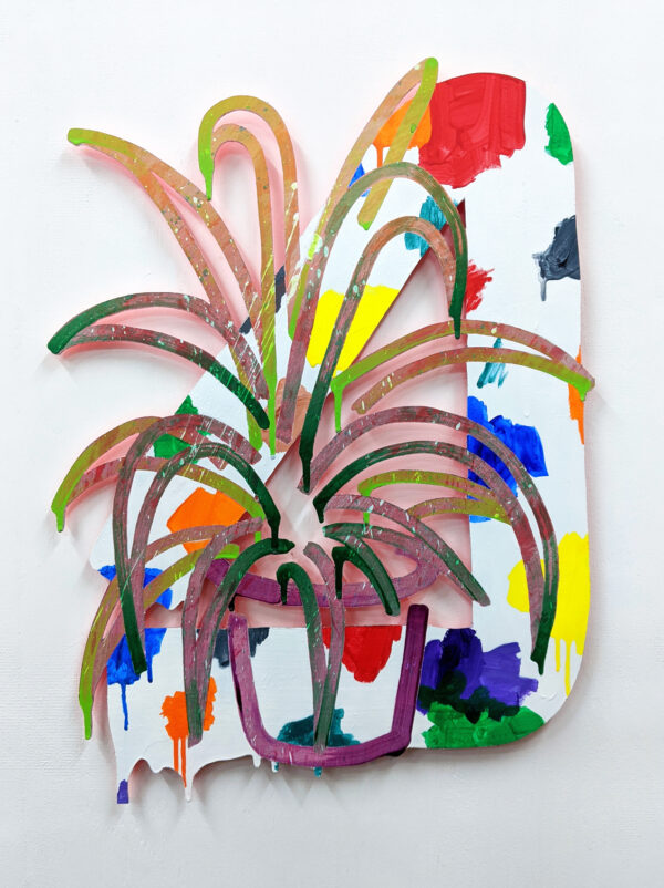 Untitled (Houseplant/Palette)