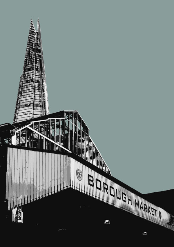 Borough Market, Duck Egg Grey.