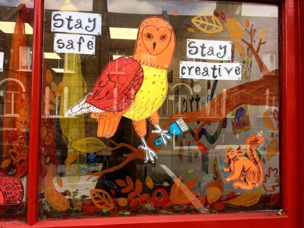 Our autumnal window display!