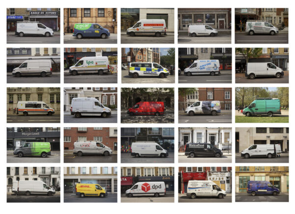 Idling Vans, Central London, May 2020