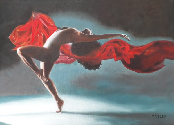 Dancer with Red Scarf