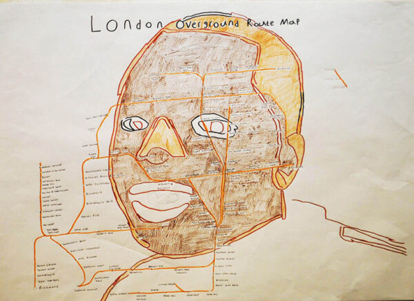 London Overground Route Map